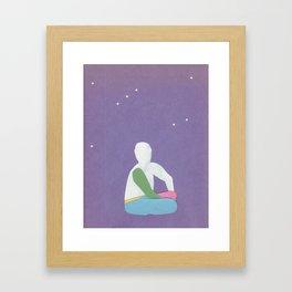 Its in the stars Framed Art Print