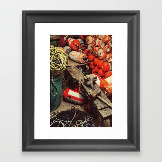 Buoy Factory Framed Art Print
