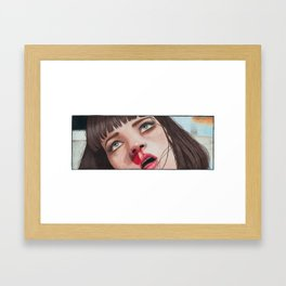 Mia Wallace Framed Art Print