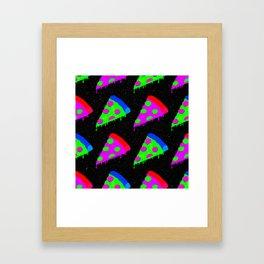 Pizza Invasion Framed Art Print