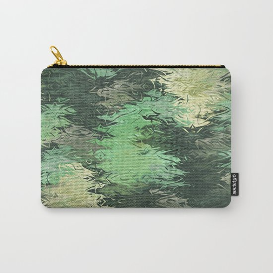 Green Illusions Carry-All Pouch