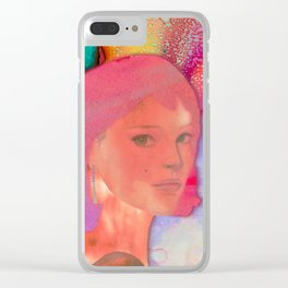 HELLO STRANGER Clear iPhone Case