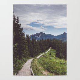 Greetings from the trail - Landscape and Nature Photography Poster