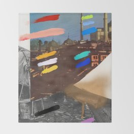 Composition 767 Throw Blanket