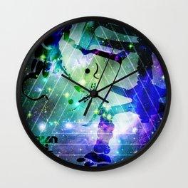 SHANHAIJING-BreadBear-HAI (Space Oddity II) Wall Clock
