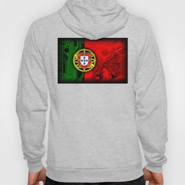 circuit board Portugal (Flag) Hoody