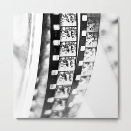 film BW Metal Print