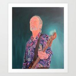 In The Moment - Steve Kilbey (The Church) Art Print