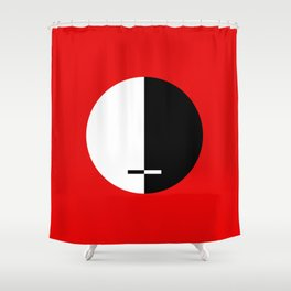 THE JUSTICE Shower Curtain