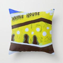 waffle house Throw Pillow