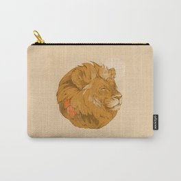 Lion | Circle Carry-All Pouch
