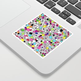 Circles and Other Shapes and colors Sticker