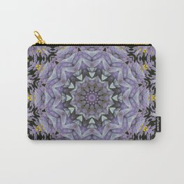 Purple Fox pattern Carry-All Pouch