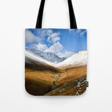 Valley Winter Tote Bag