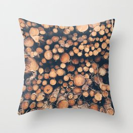 Brecon Wood Throw Pillow