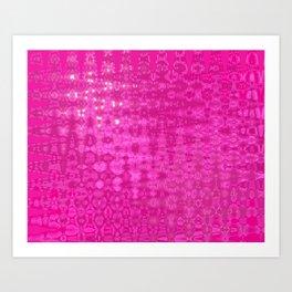 pink pink Pink Art Print