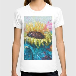 Sunny Flower by Lena Owens T-shirt