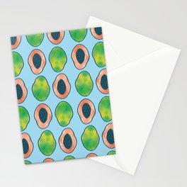 blue papaya Stationery Cards