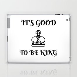 Good King Laptop & iPad Skin