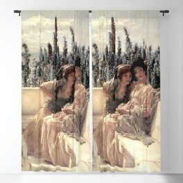 Whispering Noon 1896 by Sir Lawrence Alma Tadema | Reproduction Blackout Curtain