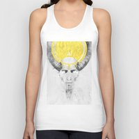lamb Tank Tops featuring The Lamb by Steve Panton