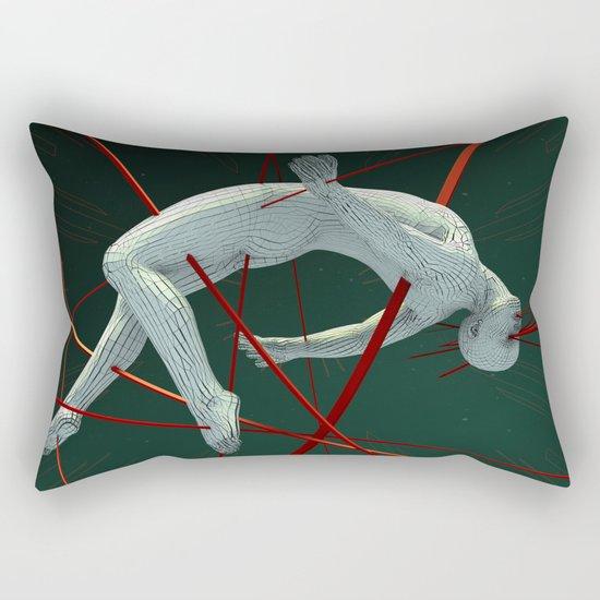 Dividendo Digital Rectangular Pillow