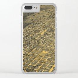 Austin 1887 Clear iPhone Case