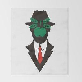 René Magritte Throw Blanket