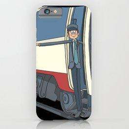 Train driver railwayman iPhone Case