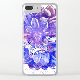 Flower V.3 Clear iPhone Case