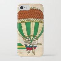 balloon iPhone & iPod Cases featuring Balloon by Janko Illustration