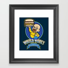 Heisenburgers Framed Art Print