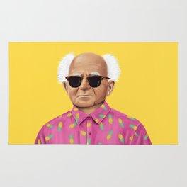 The Israeli Hipster leaders - David Ben Gurion Rug