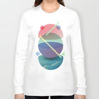 planet Long Sleeve T-shirts featuring Planet by Valerio Pellegrini