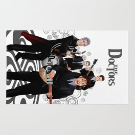 The Doctor who Renunion BAND iPhone 4 4s 5 5c 6 7, pillow case, mugs and tshirt Rug