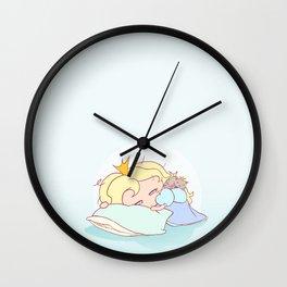 Lil Princess Nap Time Wall Clock