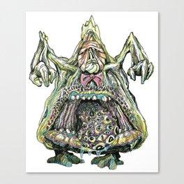 Gluttony Demon Canvas Print