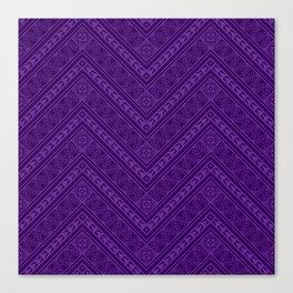 Tipi's (Purple) Canvas Print