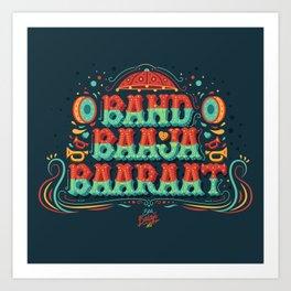 Band Baaja Baaraat Art Print