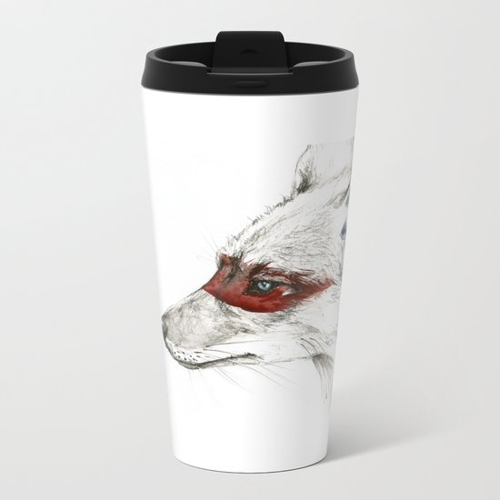 Coyote I Metal Travel Mug