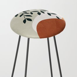 Soft Shapes I Counter Stool