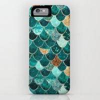 iPhone 6 Power Case featuring REALLY MERMAID by Monika Strigel