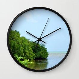 Long Key Wall Clock