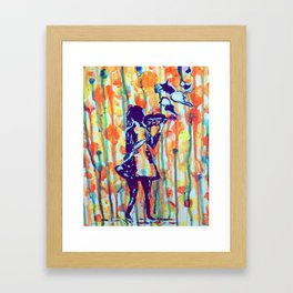 Paintdrops II Framed Art Print