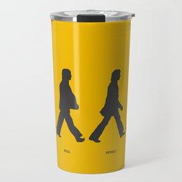 Abbey Road - Yellow Travel Mug
