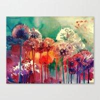 takmaj Canvas Prints featuring Allium 2 by takmaj