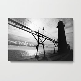 The Light House Metal Print