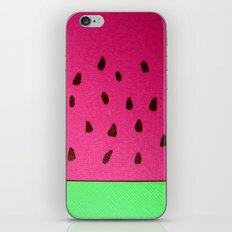Watermelon Papercut iPhone & iPod Skin