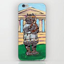 Greek Cat iPhone Skin