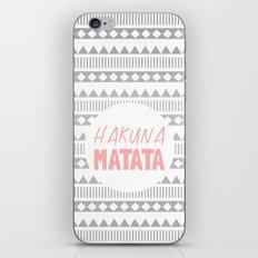 Hakuna Matata II iPhone & iPod Skin